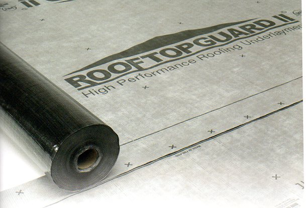 RoofTopGuard II Roofing Underlayment
